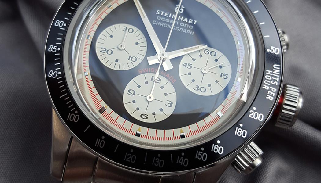 Steinhart ocean one χρονογράφος – Στα πατήματα του Paul Newman Daytona - Προτάσεις για επιλογή ρολογιού