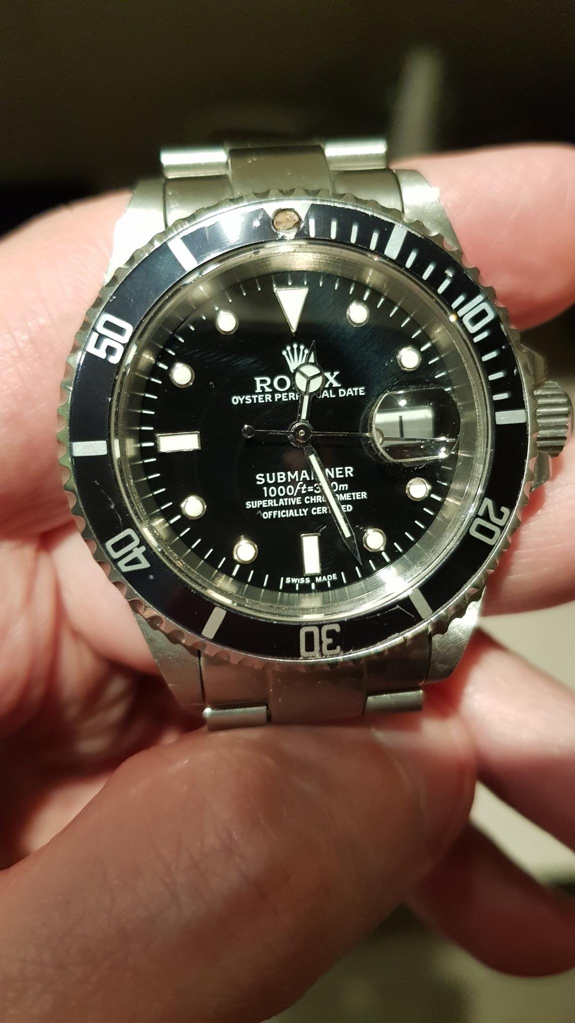 επισκευή rolex submariner replica - Ρολόγια Replica